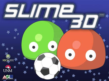 <table> 					<tr> 						<td class='portTip'> 							This is a XNA 3D game of 2 slimes that play soccer again each other. Supports single player versus the computer or multiplayer.  						</td> 					</tr> 					<tr>	 						<table> 							<tr>	 								<td class='bold'> 									Languages: 								</td> 								<td class='portTip'> 									C# and HLSL. 								</td> 							</tr> 							<tr> 								<td class='bold'> 									Libraries: 								</td>	 								<td class='portTip'> 									XNA. 								</td> 							</tr>  							<tr> 								<td class='bold'> 									Tools:  								</td> 								<td class='portTip'> 									Microsoft Visual Studio and Photoshop. 								</td>		 							</tr>  						</table>	 					</tr>		 				</table>